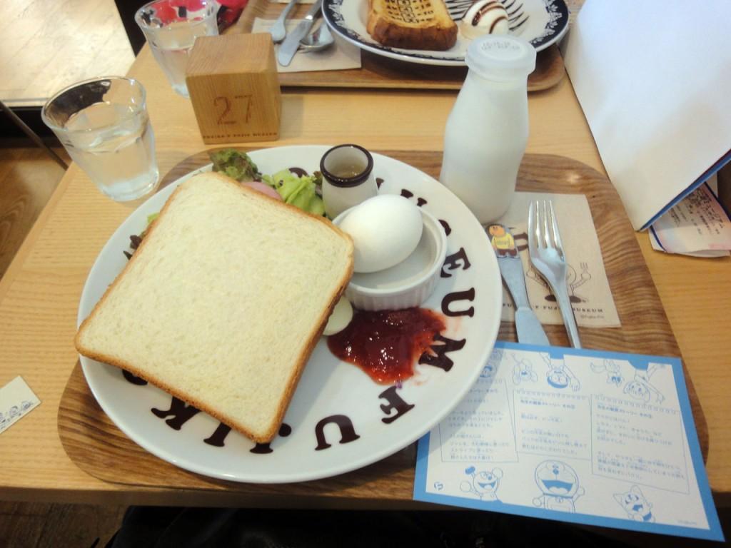 藤子・F・不二雄ミュージアム 先生の朝食