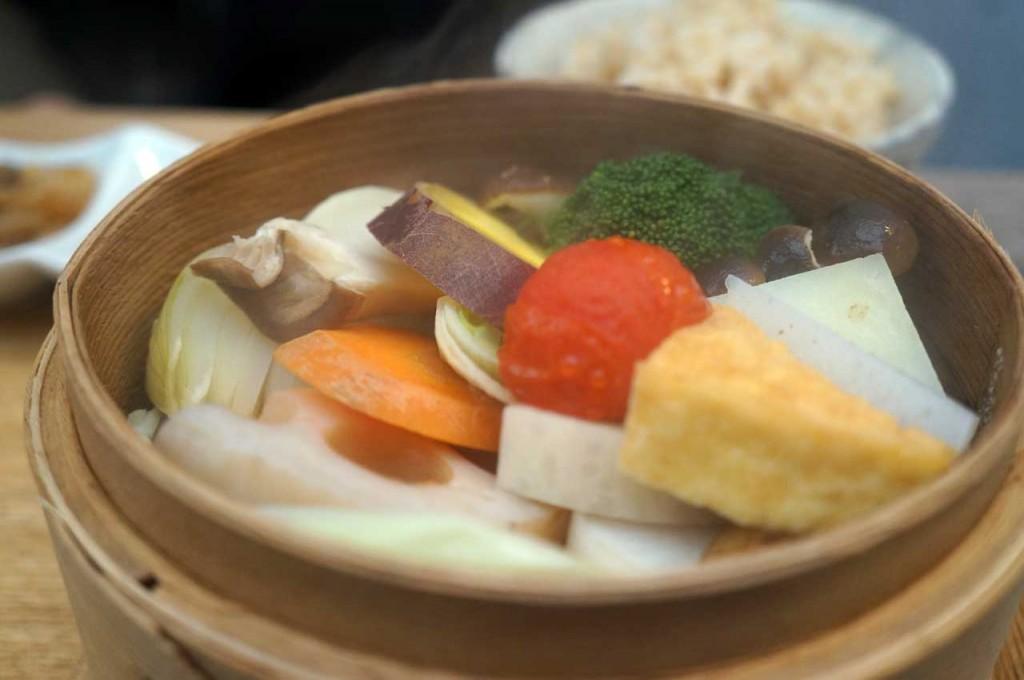 ブラウンライスカフェ BROWN RICE 季節の野菜せいろ蒸し膳