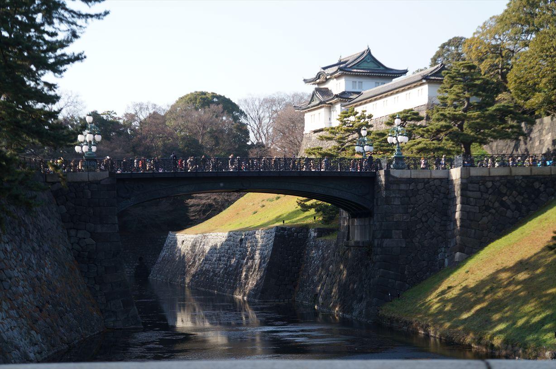 皇居 橋と中門