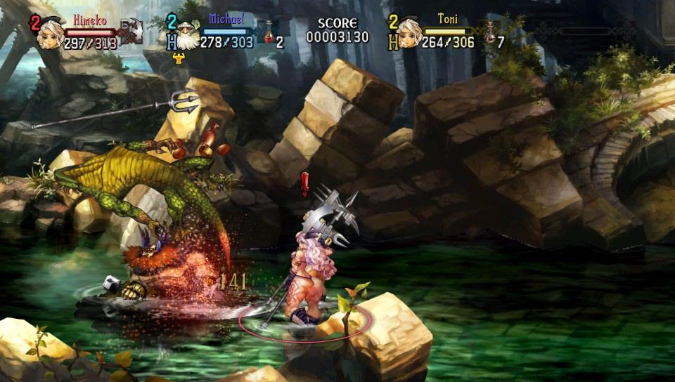 ドラゴンズクラウン 戦闘