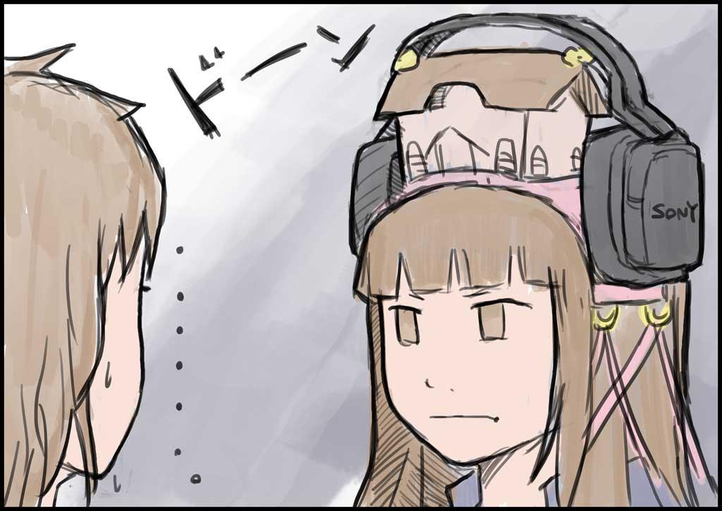 姫子ヘッドフォン