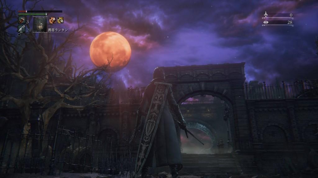 ブラッドボーン 赤い月