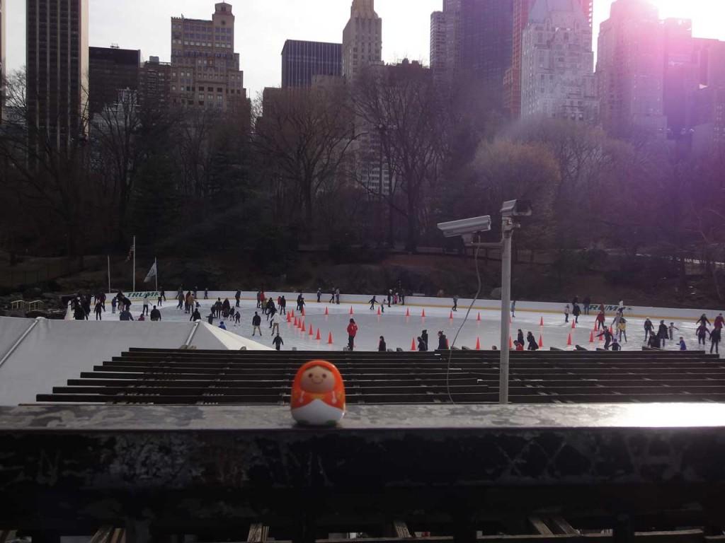 ニューヨーク セントラルパーク スケート場