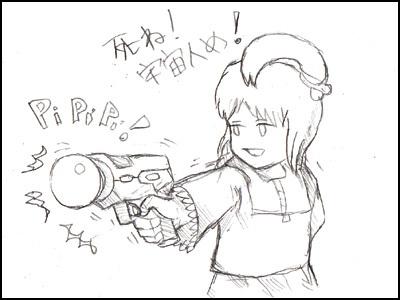 姫子さんのゲーム天守閣!-光線銃