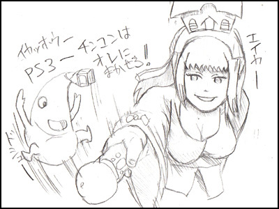 姫子さんのゲーム天守閣!-ニノ国 PS3 ムーブ