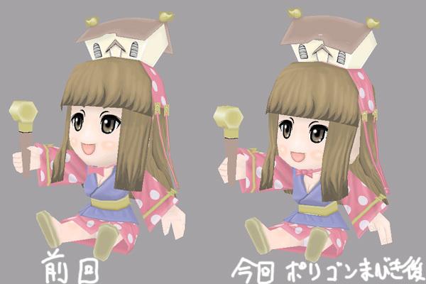 姫子さんのゲーム天守閣!-ペーパークラフトファイナル完成モデル