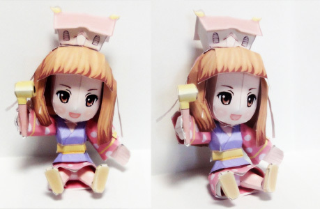 姫子さんのゲーム天守閣!-姫子さんへーパークラフトどーん!