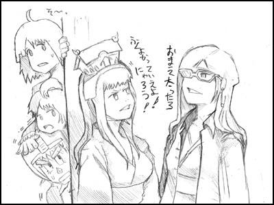 姫子さんのゲーム天守閣!-天守閣ゲームス物語第四話