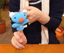 姫子さんのゲーム天守閣!-リサとガスパール&ペネロペ展グッズペネロペ指人形