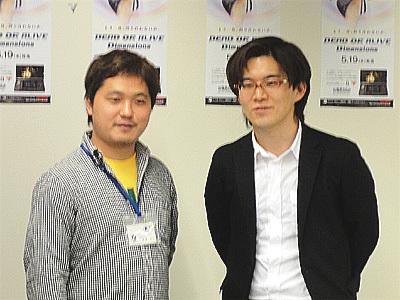 姫子さんのゲーム天守閣!-早矢仕洋介さんと新堀洋平さん DOADイベントにて