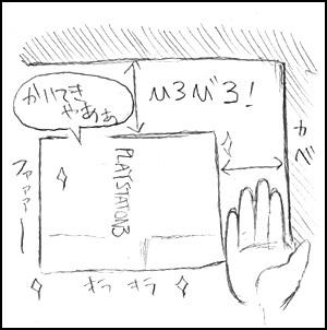 姫子さんのゲーム天守閣!-PS3設置場所2